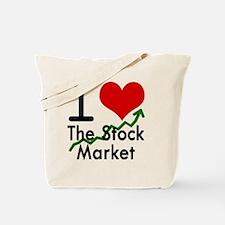 Stock Market Tote Bag