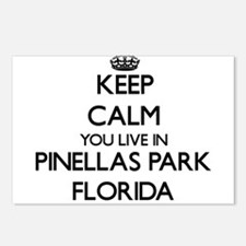 Keep calm you live in Pin Postcards (Package of 8)