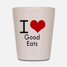 Good Eats Shot Glass