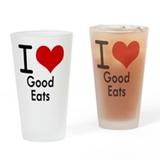 Good Eats Drinking Glass