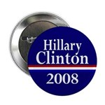 Hillary Clinton 2008 Buttons (10 pack)