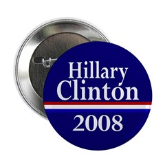 Hillary Clinton 2008 Button