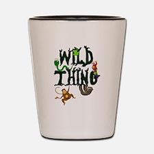 Wild Thing Shot Glass