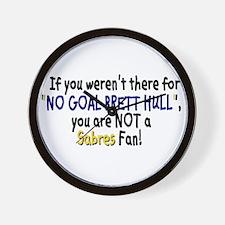TRUE Fans Wall Clock