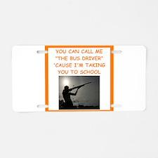 trap shooting Aluminum License Plate