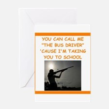 trap shooting Greeting Cards
