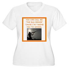 trap shooting Plus Size T-Shirt