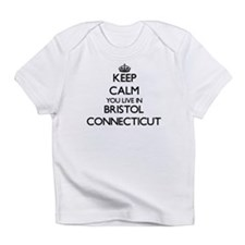 Keep calm you live in Bristol Conne Infant T-Shirt