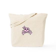Pinkie the Pink Skull Tote Bag