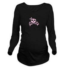 Pinkie The Pink Long Sleeve Maternity T-Shirt