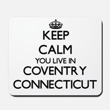 Keep calm you live in Coventry Connectic Mousepad