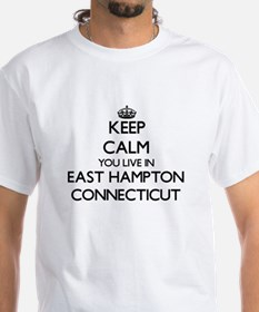 Keep calm you live in East Hampton Connect T-Shirt