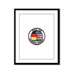 6913th Security Squadron Framed Panel Print