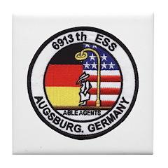 6913th Security Squadron Tile Coaster