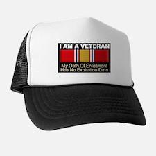 I Am A Veteran Trucker Hat
