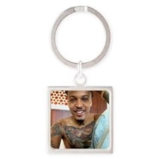 August Alsina Square Keychain