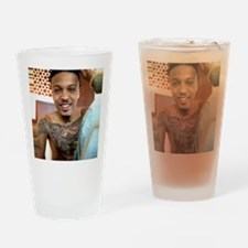 August Alsina Drinking Glass