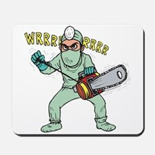 surgery humor Mousepad