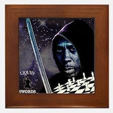 Liquid Swords Framed Tile