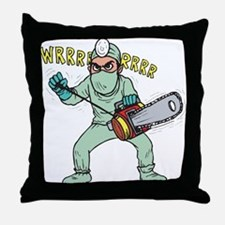 surgery humor Throw Pillow
