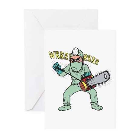 surgery humor Greeting Cards (Pk of 20)