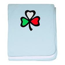 Cute Italian and irish baby blanket