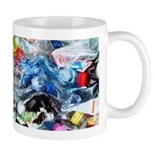 Recycling plastic Mugs