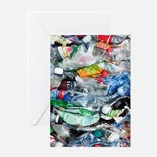 Recycling plastic Greeting Cards