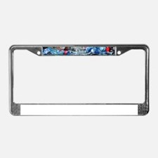 Recycling plastic License Plate Frame