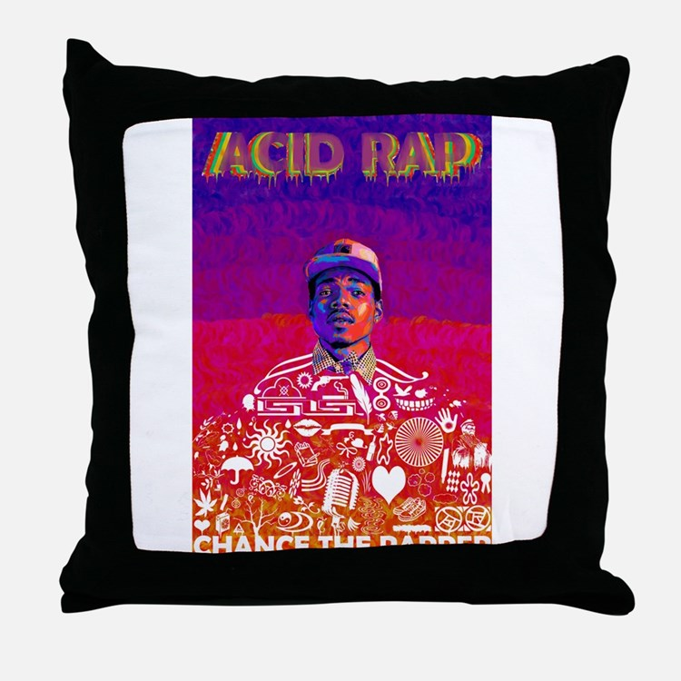 Cute Rap Throw Pillow