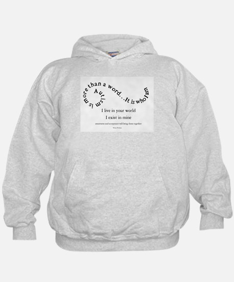 Autism ~ Two worlds Hoody