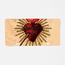Heart_of_Jesus_sq.png Aluminum License Plate