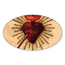Sacred Heart of Jesu Decal