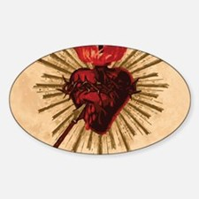 Sacred Heart of Jesu Decal