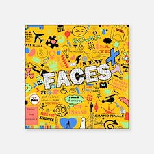 """Cute Mac Square Sticker 3"""" x 3"""""""
