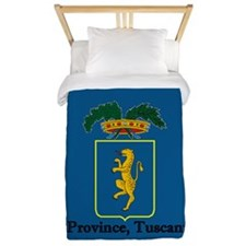 Lucca Province, Tuscany, Italy Twin Duvet