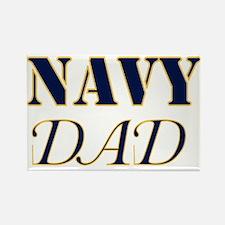 Unique Military dad Rectangle Magnet (10 pack)