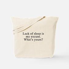 Funny I hate work Tote Bag
