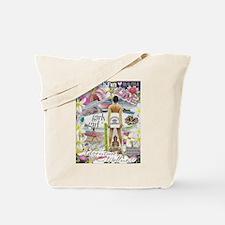 Funny Girlpower Tote Bag