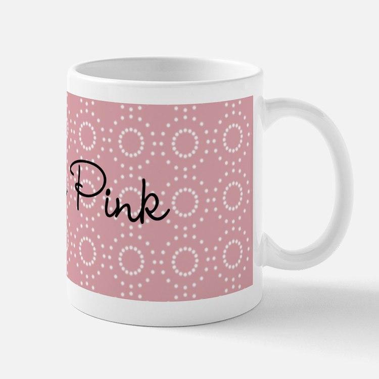 Cute Pink Pattern Mug