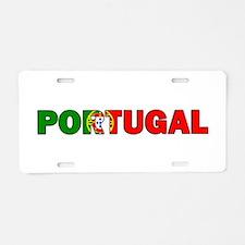 Portugal Aluminum License Plate