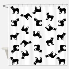 Boston Terriers Shower Curtain