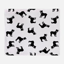 Boston Terriers Throw Blanket