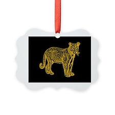Cougar Ornament