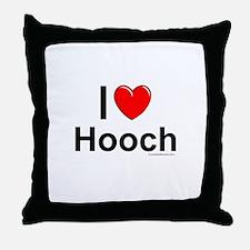 Hooch Throw Pillow