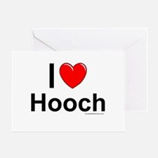 Hooch Greeting Card