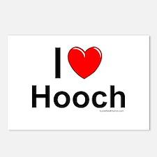 Hooch Postcards (Package of 8)