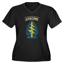 US Army Special Forces Airborne Plus Size T-Shirt