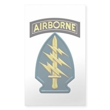 US Army Special Forces Airborn Decal