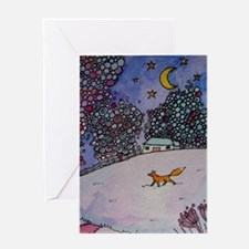 Wandering Fox Greeting Cards